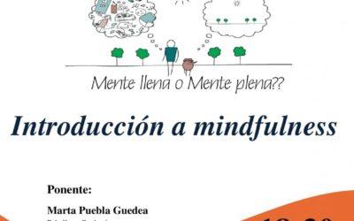 """INTRODUCCIÓN A MINDFULNESS"""