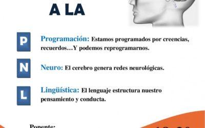 II CHARLA SALUDABLE: Programación Neuro Lingüística