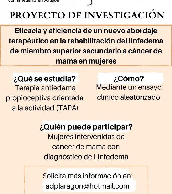 Investigación sobre la Rehabilitación en Linfedema por cáncer de mama