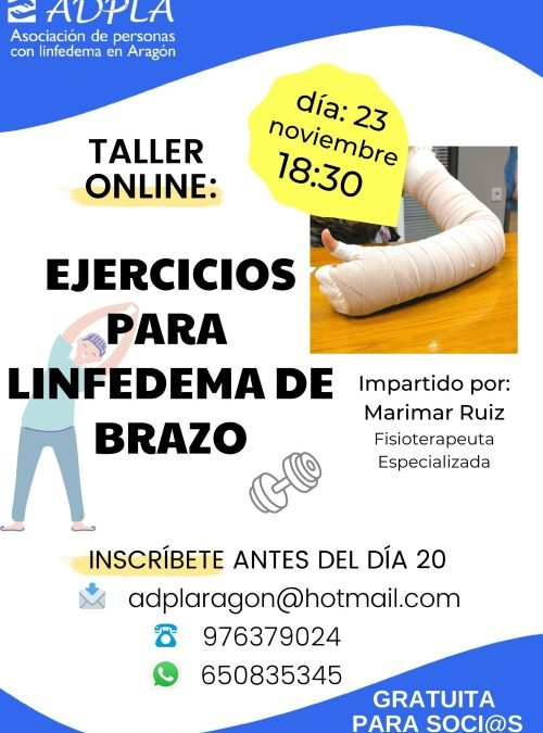 "TALLER ""Ejercicios para Linfedema de brazo"""