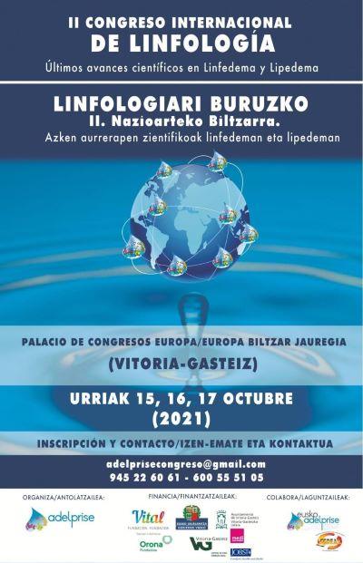 II Congreso Internacional de Linfología (Adelprise). Cuenta atrás…