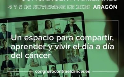 V Congreso aragonés de personas con cáncer y familiares